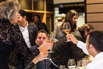 Jordi Melendo, autor de la guía, asistió al evento que tuvo lugar en The View, el restaurante de 7pines.