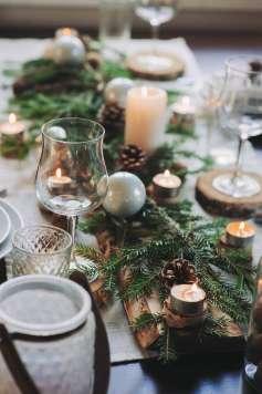 La tendencia natural llega a la mesa navideña.